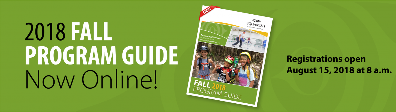 2018 Fall Program Guide