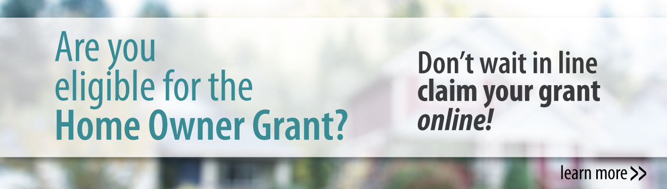 Claim the Homeowner Grant Online