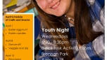 Youth youth night schedule April 2
