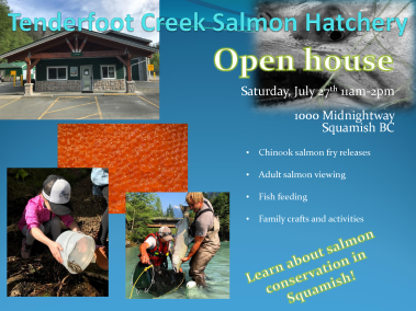 Tenderfoot Creek Salmon Hatchery Open house